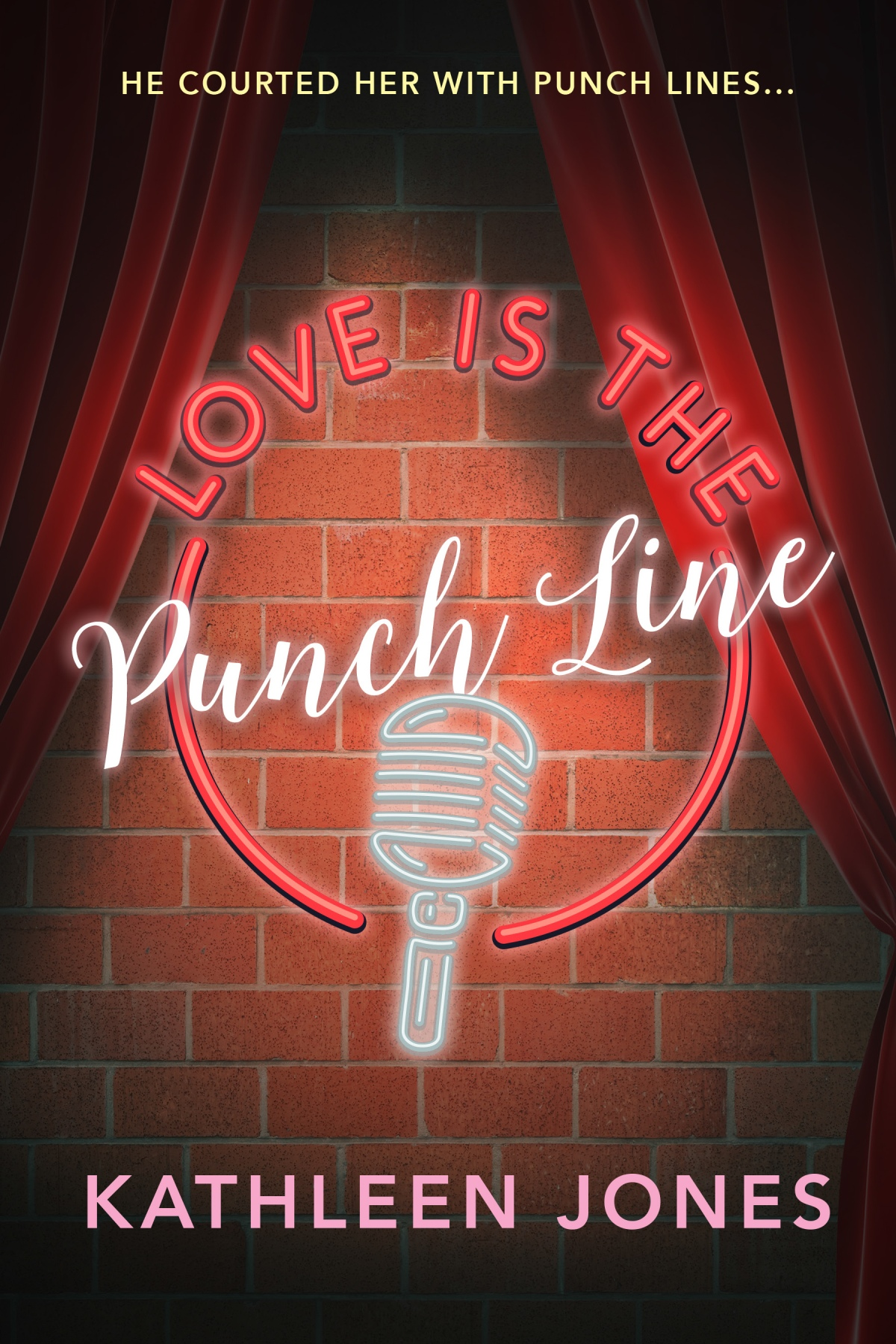 """Love Is the Punch Line"" now on Booksradar!"