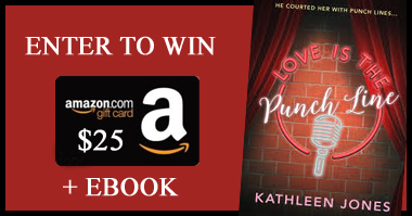 Kathleen Jones' $25 Amazon Card & eBook #BookGiveaway on Night Owl Romance
